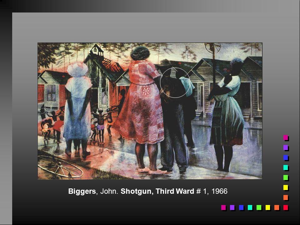 Biggers, John. Shotgun, Third Ward # 1, 1966