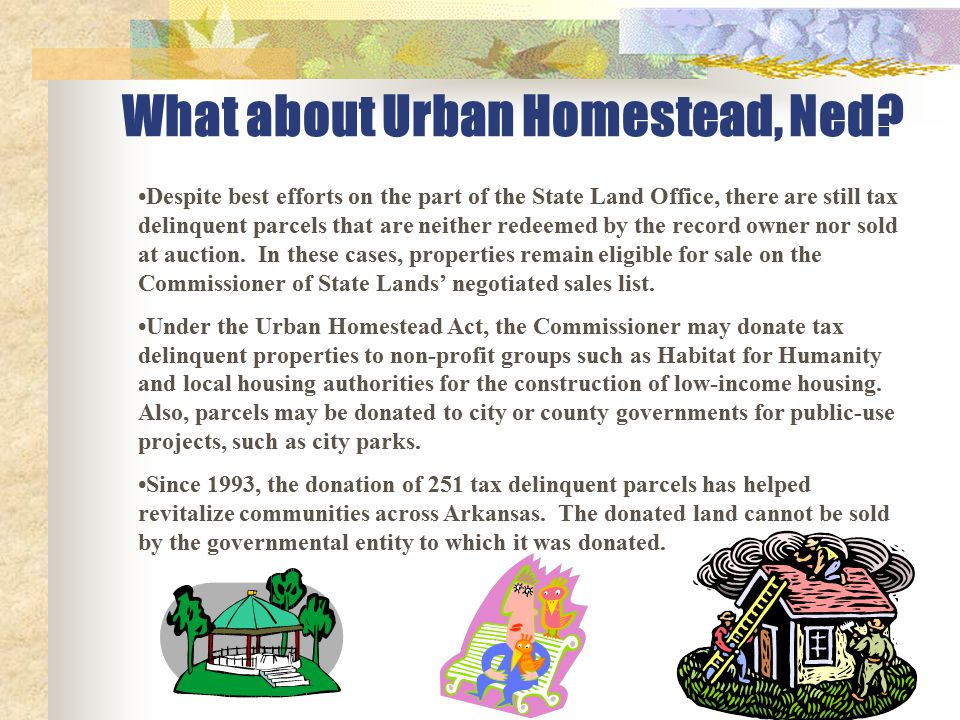 What about Urban Homestead, Ned.