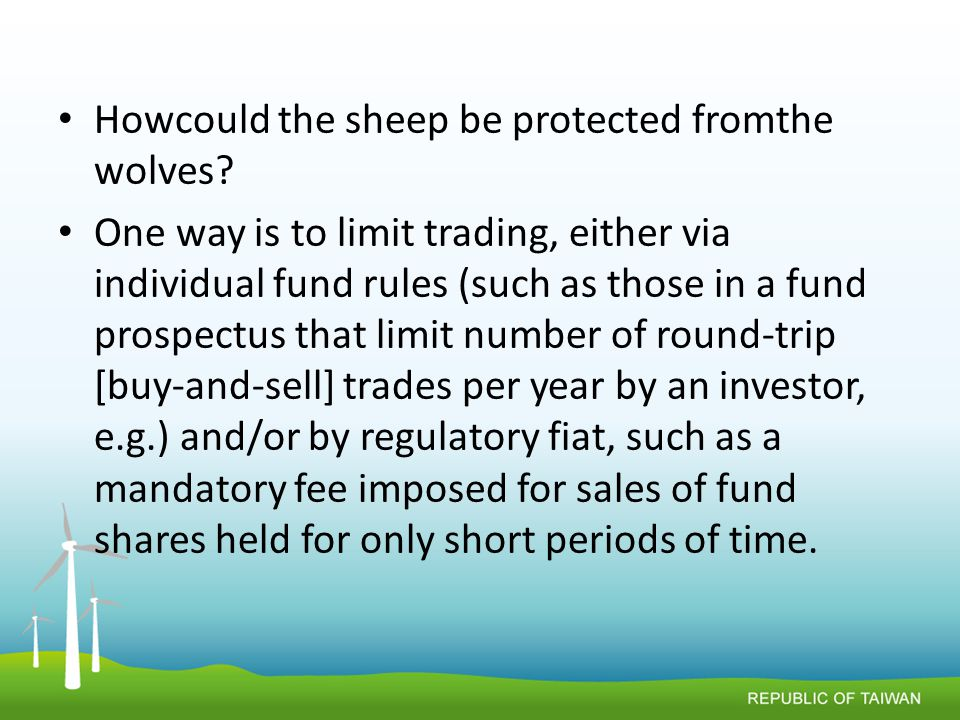 Howcould the sheep be protected fromthe wolves.