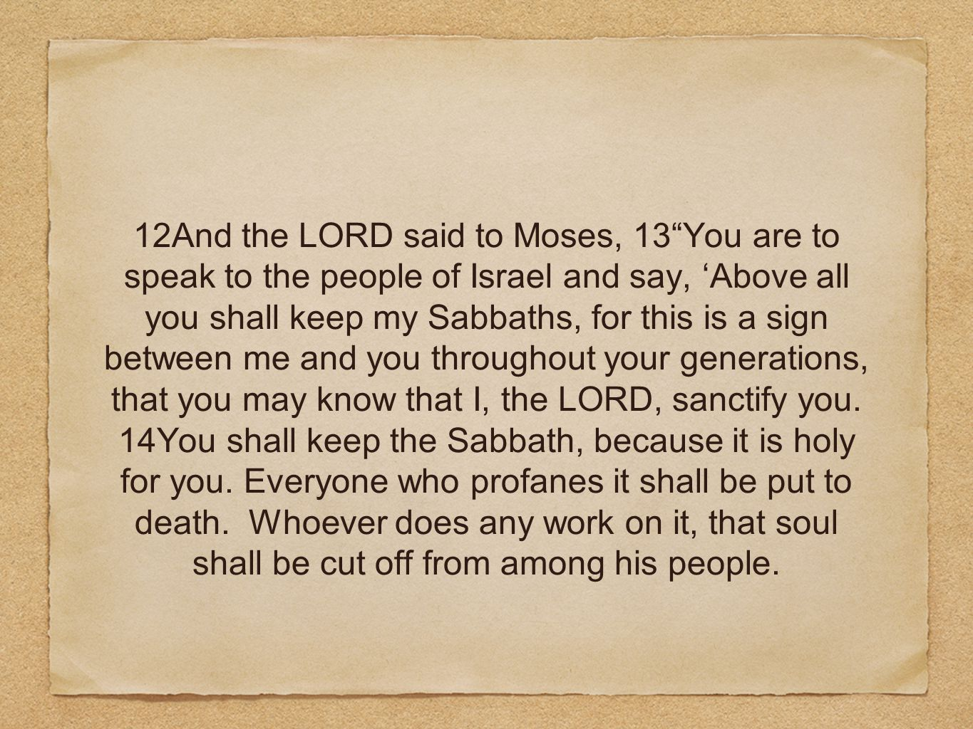 29And Moses said, Today you have been e ordained for the service of the LORD, each one at the cost of his son and of his brother, so that he might bestow a blessing upon you this day. 30The next day Moses said to the people, You have sinned a great sin.