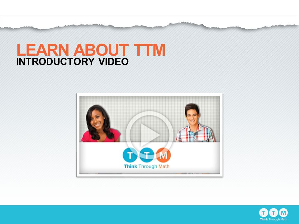 LEARN ABOUT TTM INTRODUCTORY VIDEO