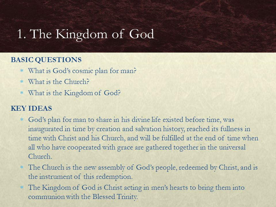 What is the visible hierarchy that Christ gave the Church.