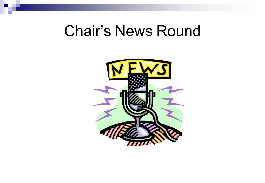 Chair's News Round