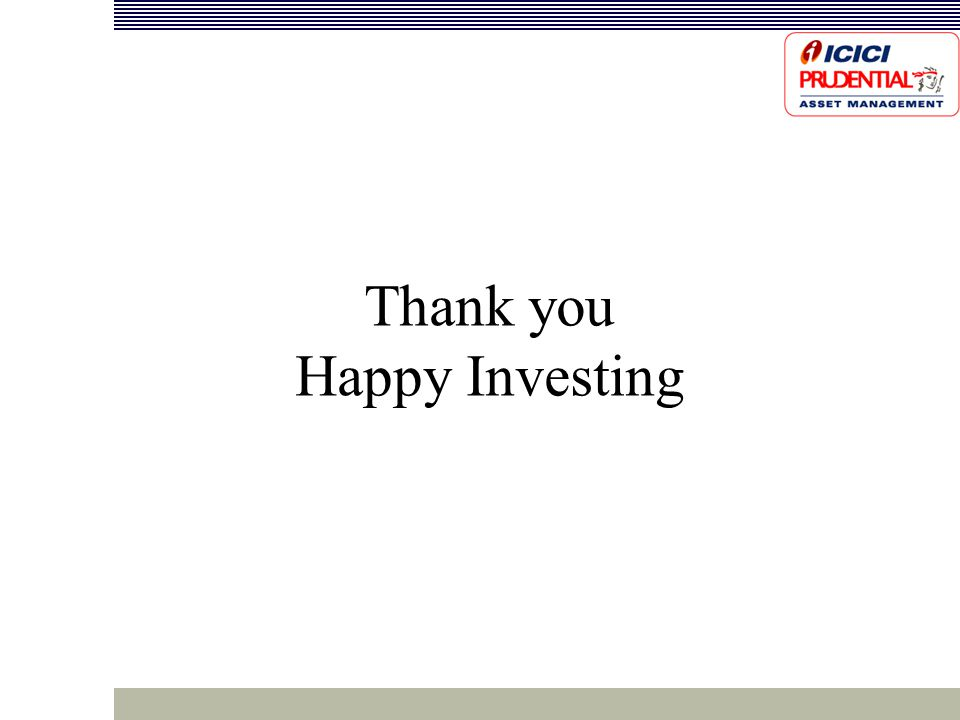 Thank you Happy Investing