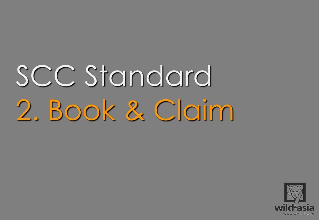 SCC Standard 2. Book & Claim