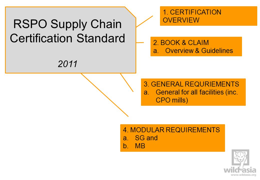 Third-parties can be included in Facility s SCC certification.