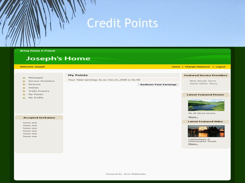 Credit Points