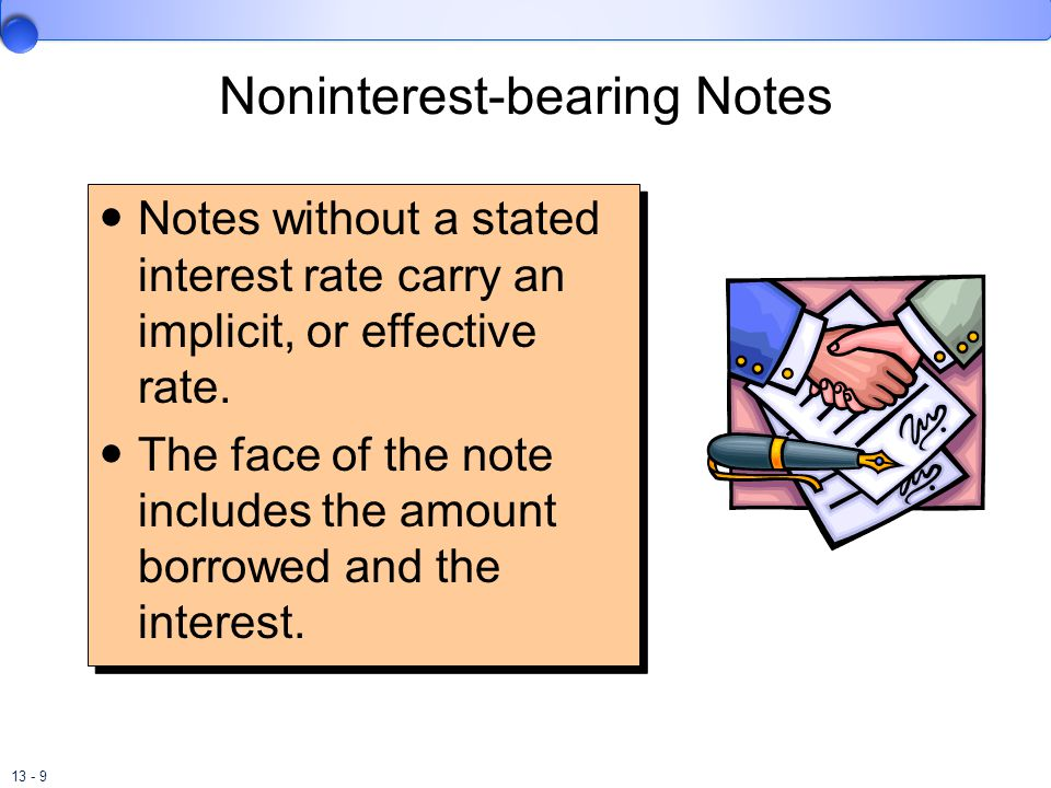 13 - 10 Noninterest-bearing Notes On May 1, Batter-Up, Inc.