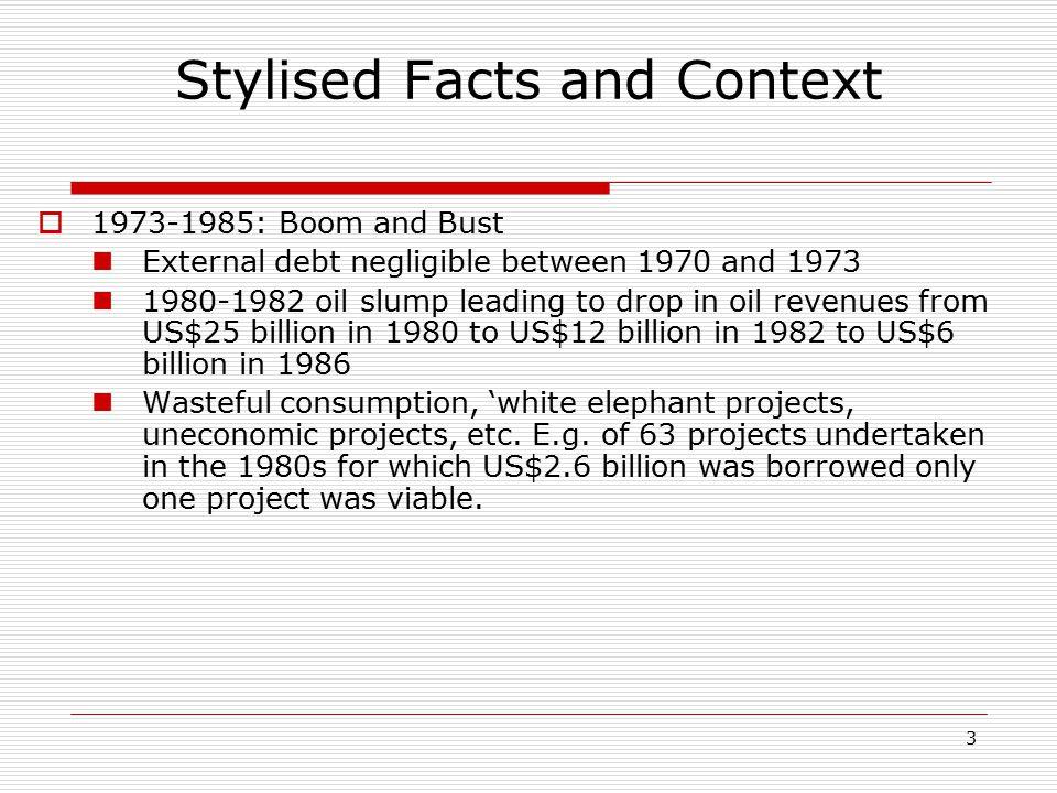 14 The Paris Club Debt Exit Strategy: Process  Financing the exit option.