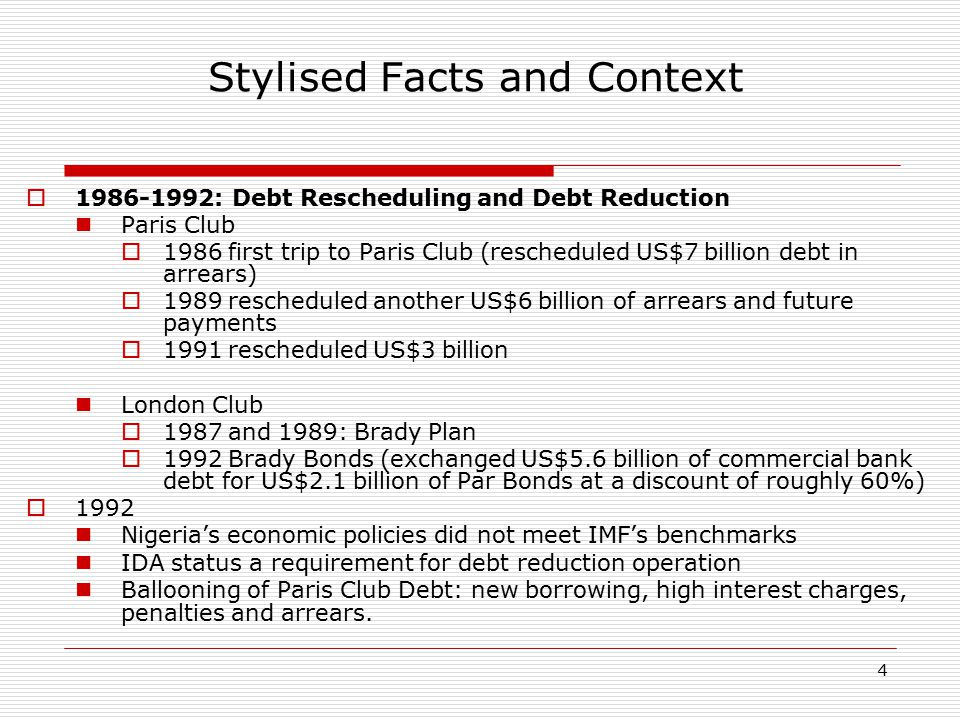 15 Uniqueness of the PC Debt Exit  Historic deal-write off of $18 billion  Biggest debt write-off in Africa.