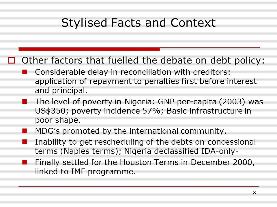 29 Domestic Debt Restructuring Domestic Debt Stock by Instrument, 2004 Domestic Debt Stock by Instrument, 2005