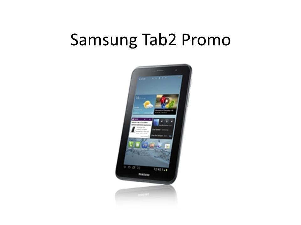 Samsung Tab2 Promo