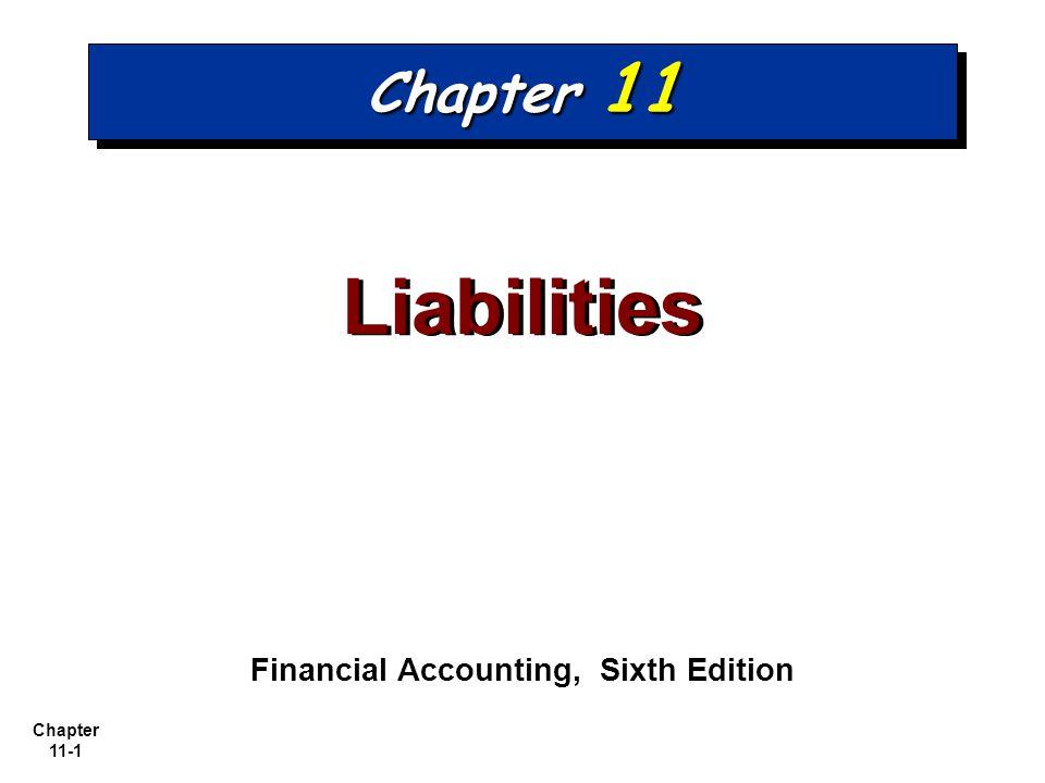 Chapter 11-12 E11-3 E11-3 1.