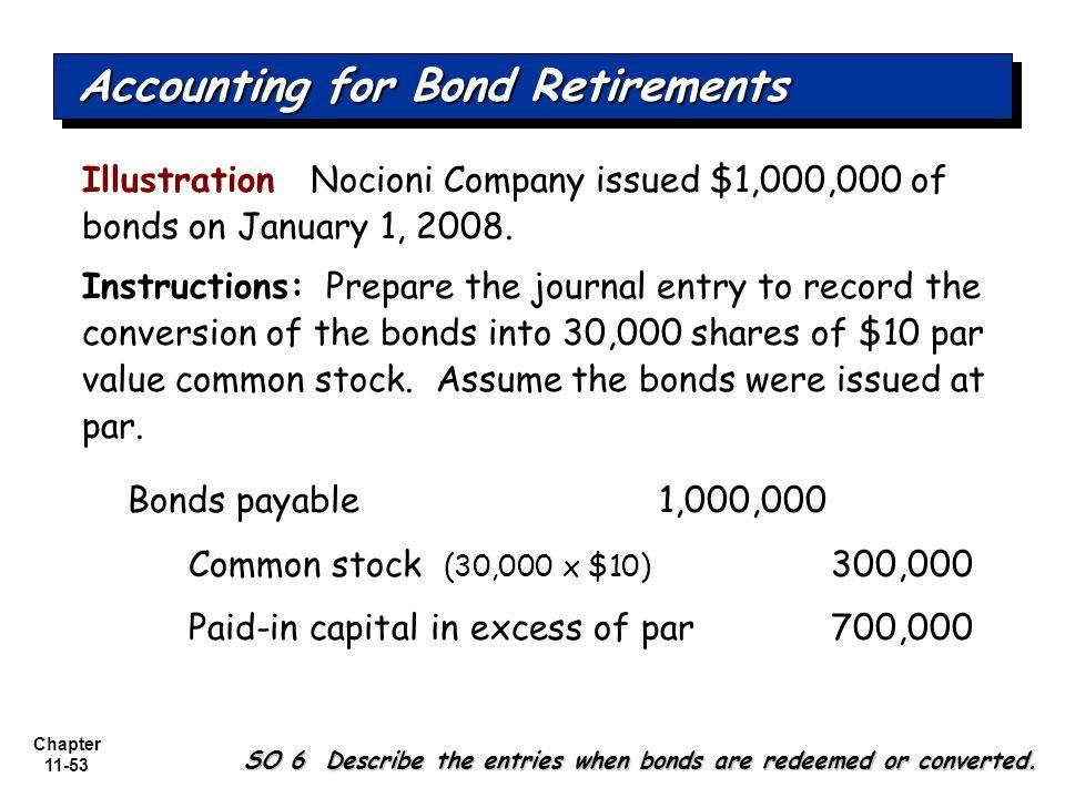 Chapter 11-53 Illustration Nocioni Company issued $1,000,000 of bonds on January 1, 2008.