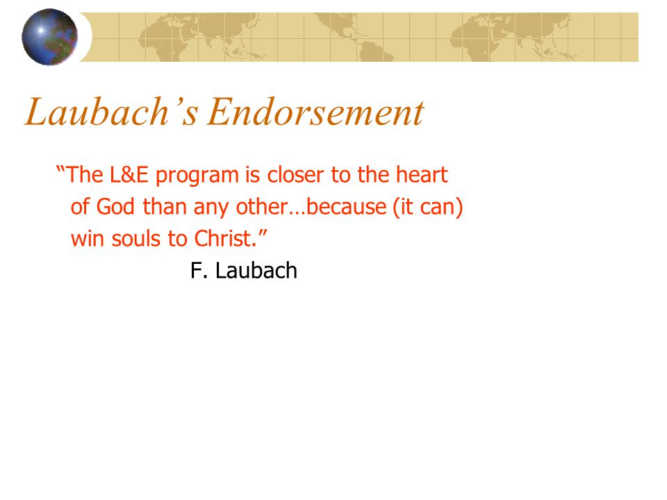 """Birth of Literacy & Evangelism Oral Roberts University Laubach co-teaches Rice invited to join LL Bob instead begins """"L & E"""""""