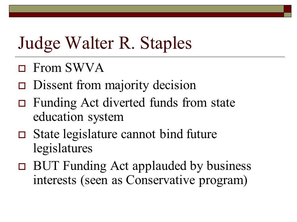 Judge Walter R.