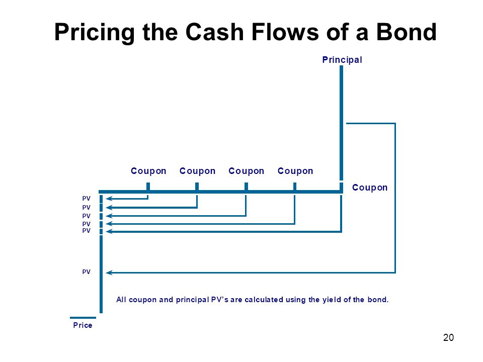 20 Pricing the Cash Flows of a Bond