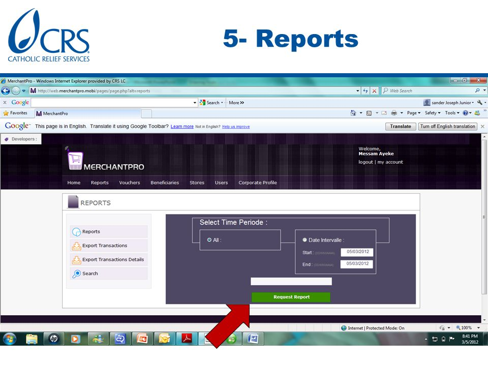 5- Reports