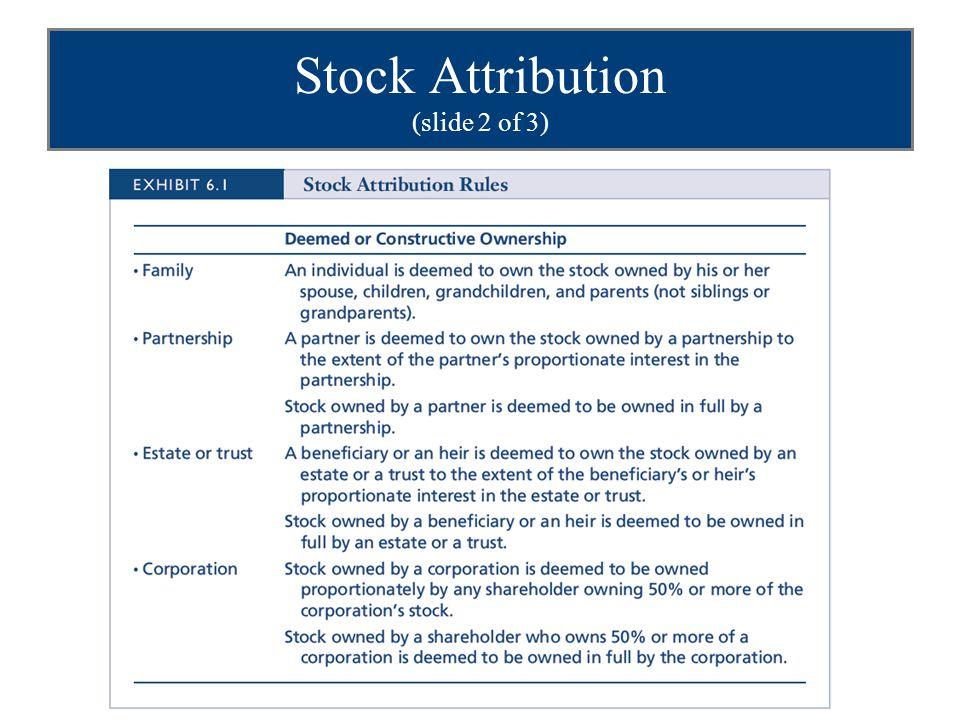 Stock Attribution (slide 2 of 3)