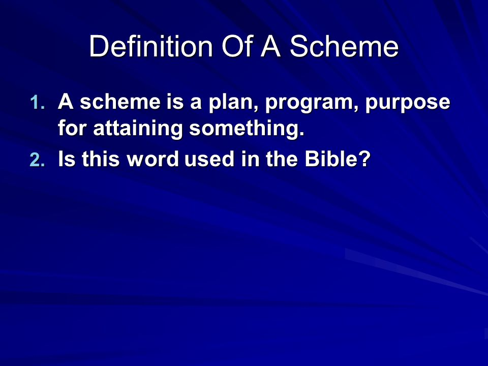 Is This Word Used In The Bible.