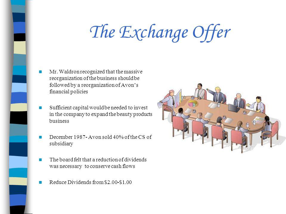The Exchange Offer Mr.