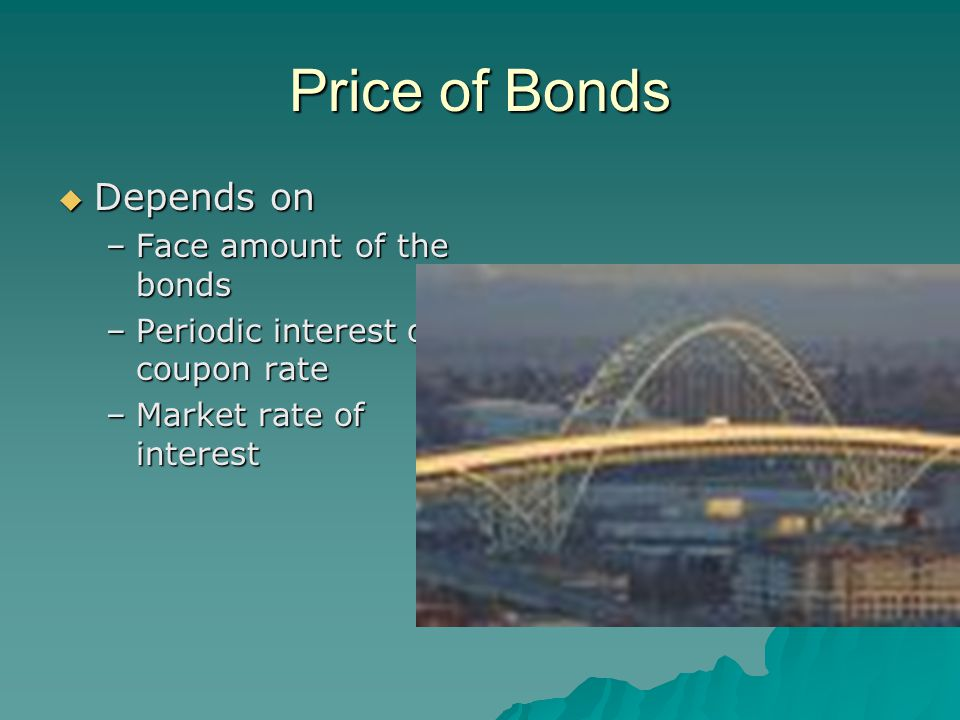 Bond Redemption  If corporation redeems bond at a price other than carrying value of the bonds –Face amount of the bond less unamortized discount –Face amount of bonds plus unamortized premium  If redemption price is below carrying amount –Difference is a GAIN