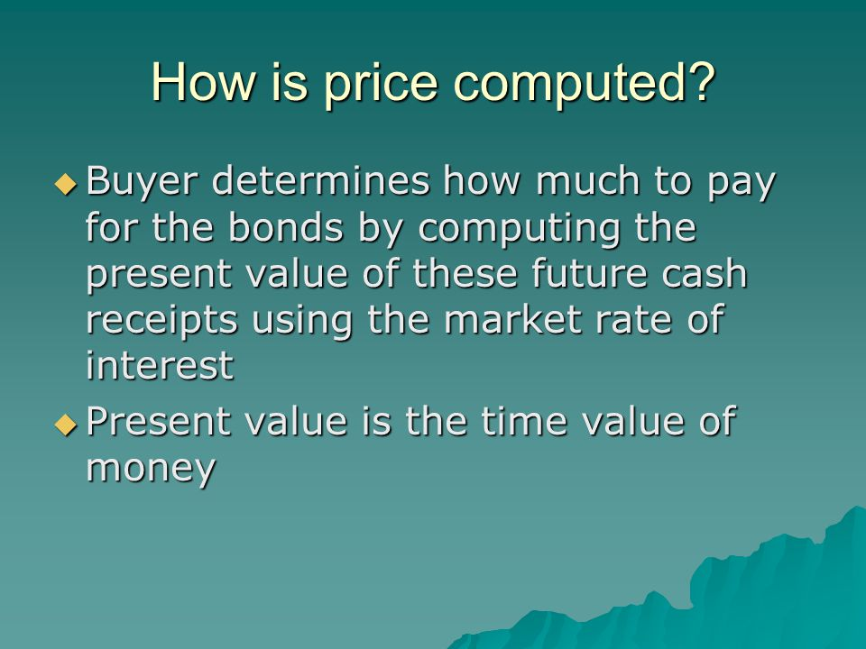How is price computed.