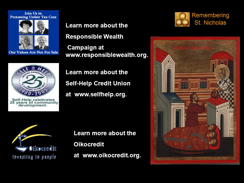 Learn more about the Responsible Wealth Campaign at www.responsiblewealth.org.
