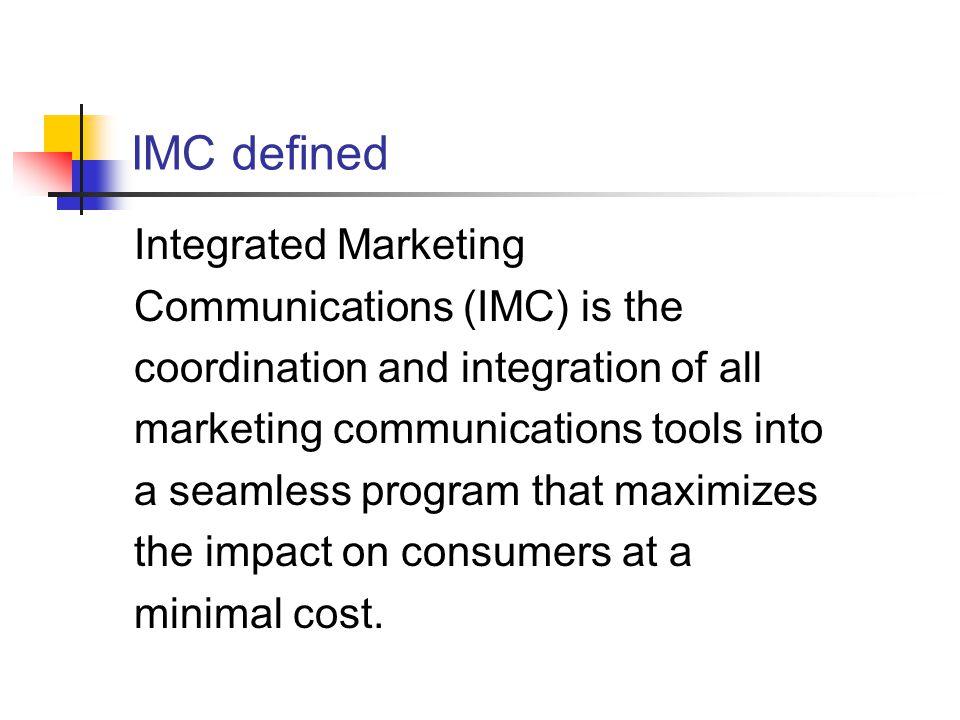 impact of imc on consumer buying