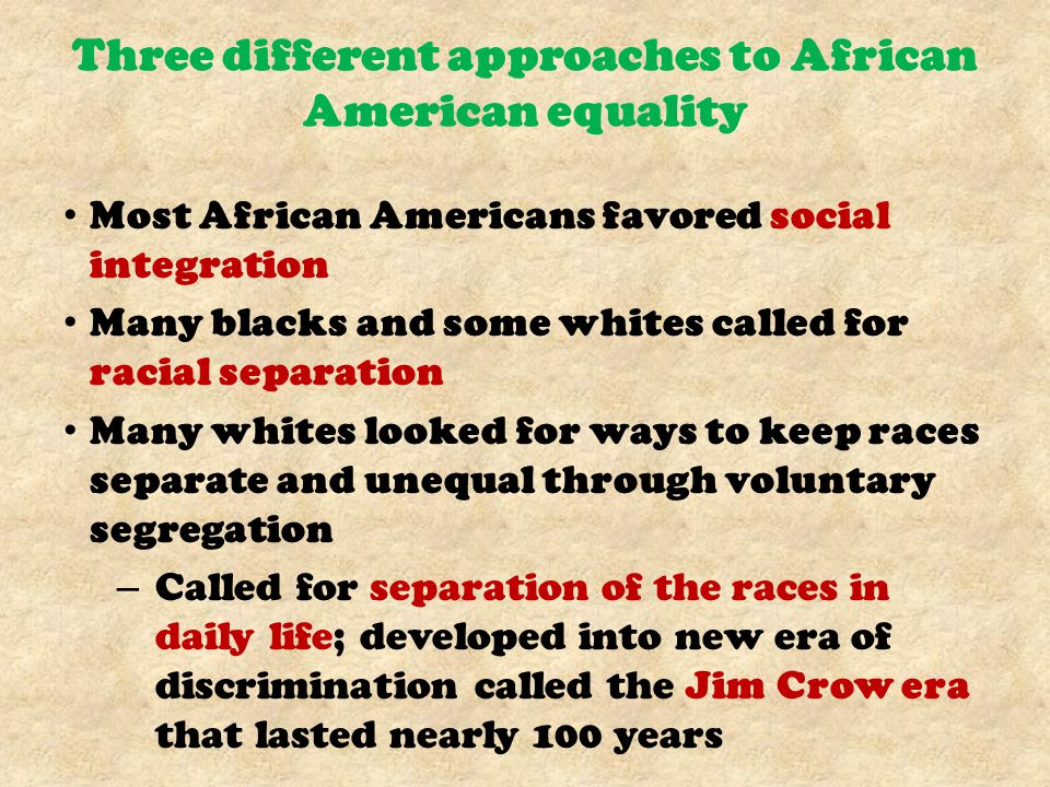 Black Disfranchisement New black codes included unfair voting laws; adding literacy tests to their voting restrictions Many blacks had received no education; could not pass tests States voting fee called a poll tax Poor and illiterate whites were exempted by grandfather clause; if grandfather eligible to vote, then that person could vote as well