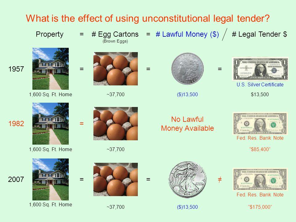 Property=# Lawful Money ($) ($)13,500 = 1957 1,600 Sq.