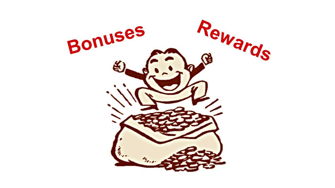Bonuses Rewards