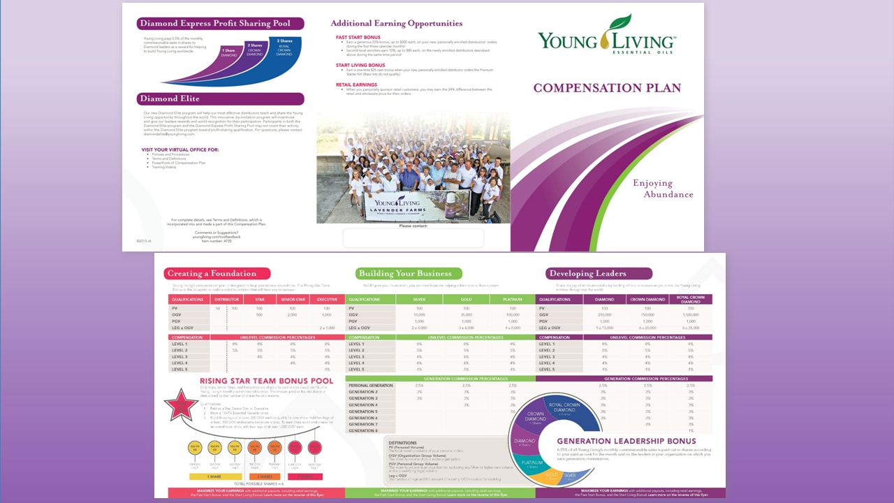All compensation plans have numbers and details that can make someone feel perhaps overwhelmed and/or confused in the beginning.