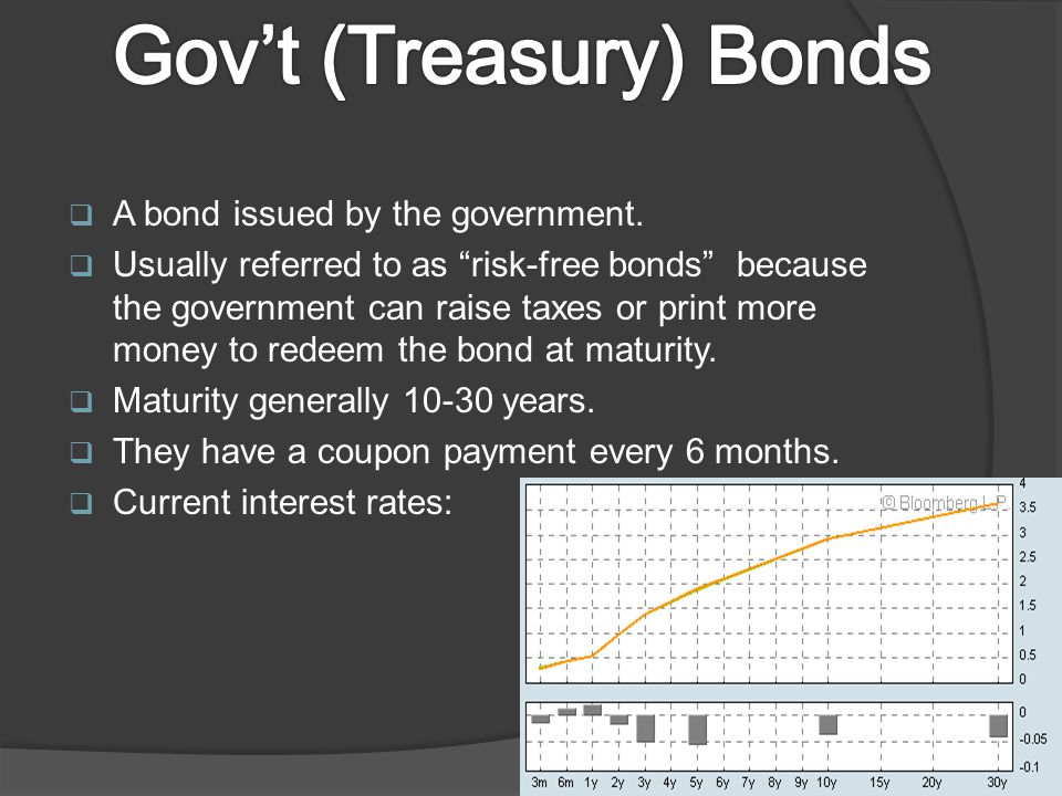  A bond issued by the government.