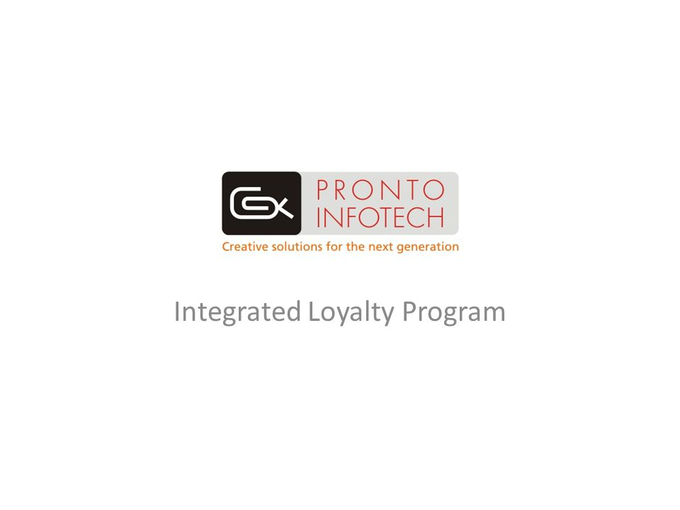 Integrated Loyalty Program