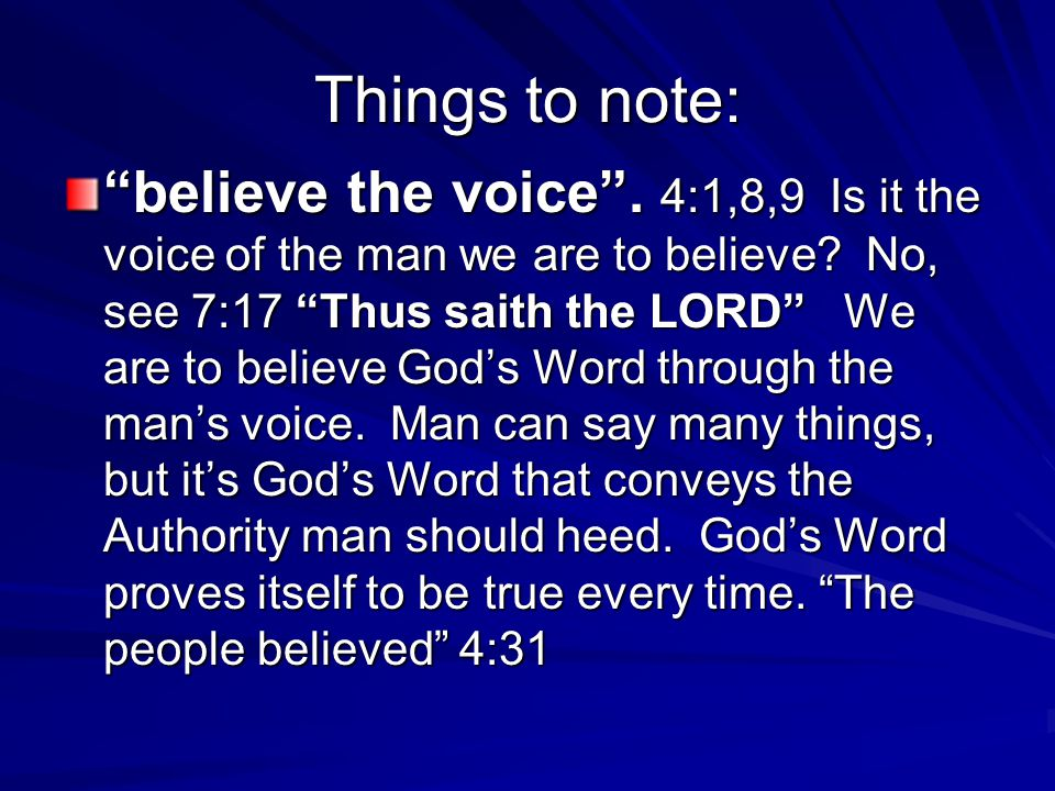 We not only have physical eyes and ears; our hearts have eyes and ears as well, that allow us to hear and see God.