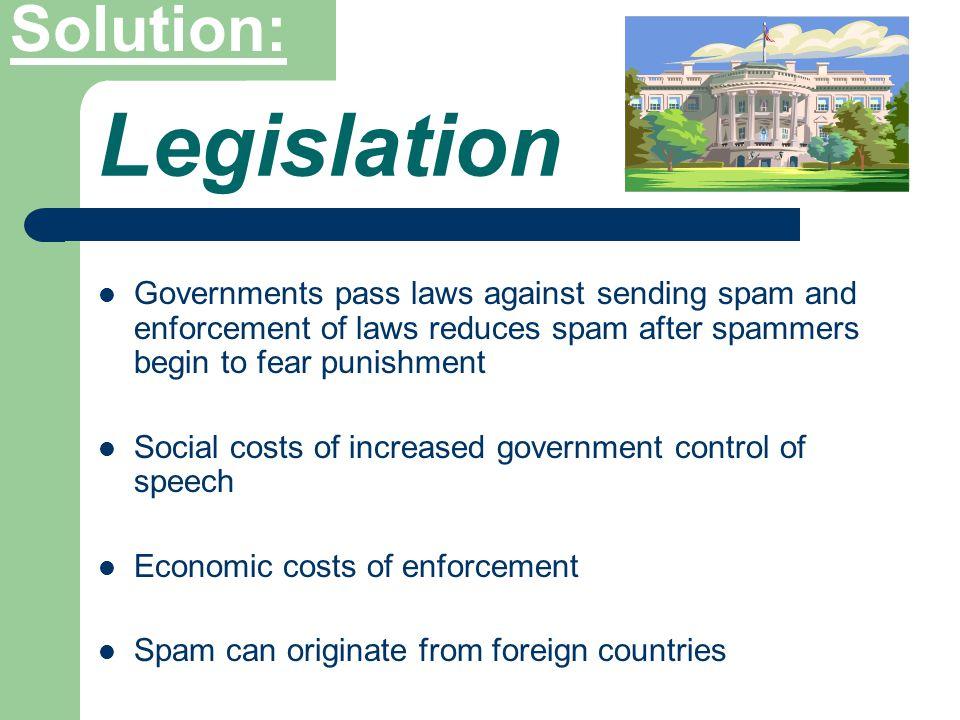 Legislative Based Payment Based Filter Based