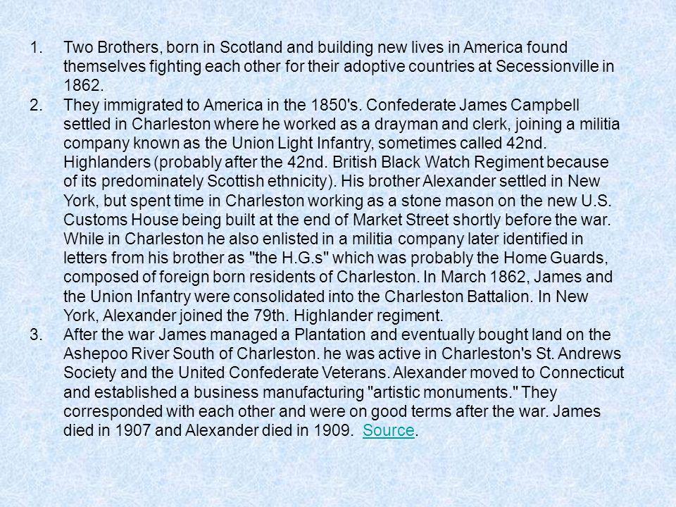 West Point Brothers: Civil War Enemies