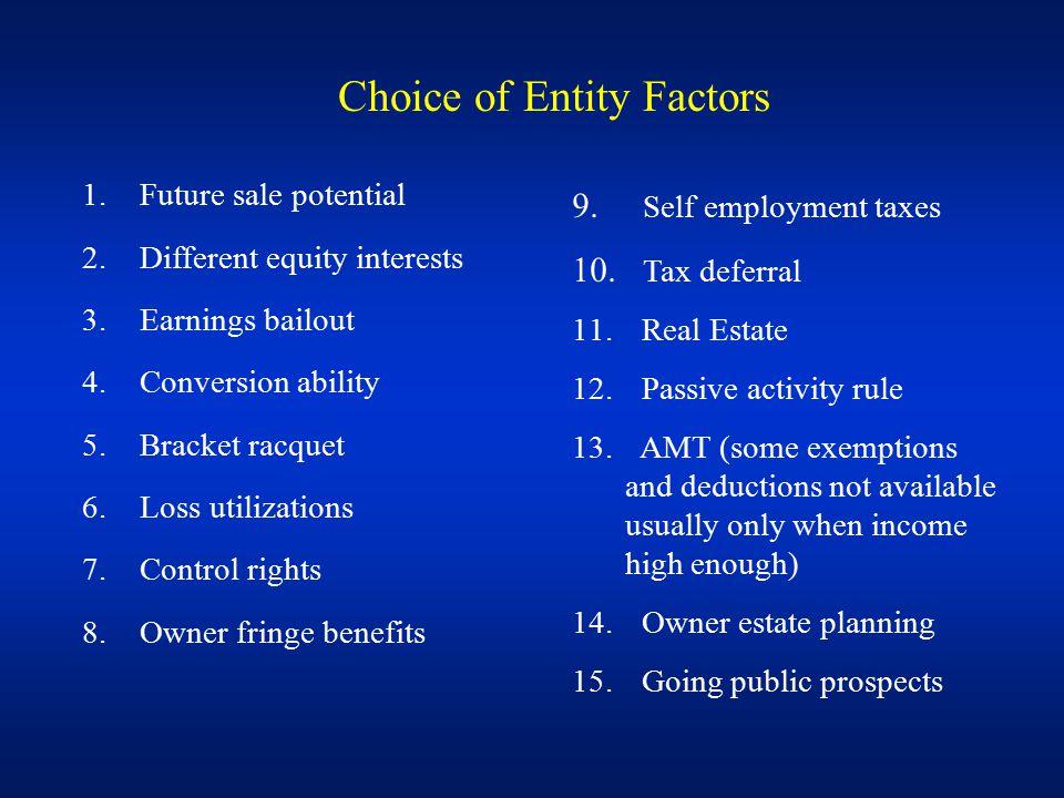 Module 4: Choice of Entity Challenge Part 3: Entity conversions