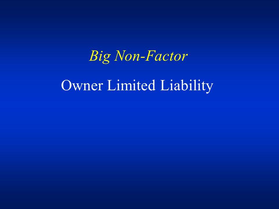 Factor # 1 Future Sale Potential