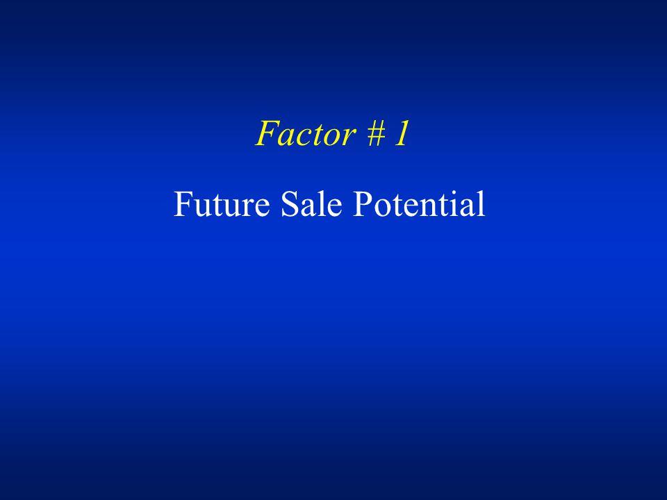 Factor # 4 Conversion Flexibility