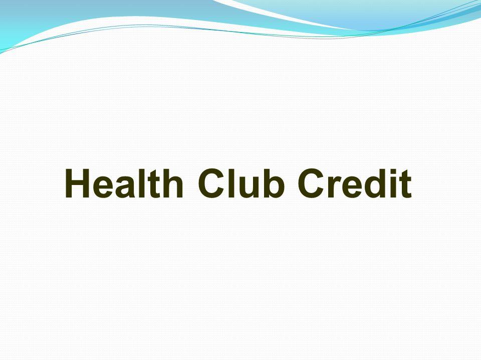 Health Club Credit