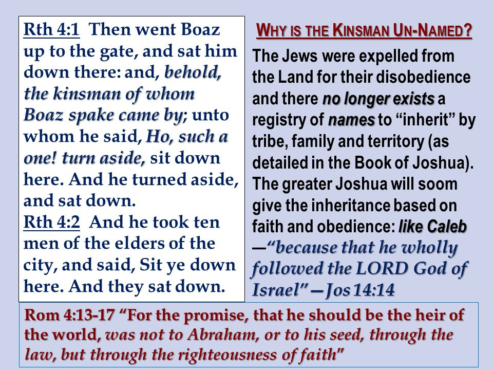 behold, the kinsman of whom Boaz spake came by Ho, such a one.