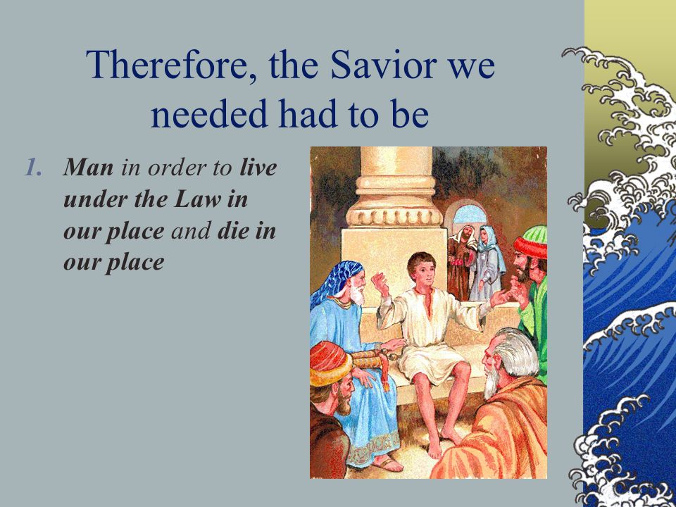 Our Savior ' s Office As our Prophet, Jesus … spoke God ' s word in person while on earth.