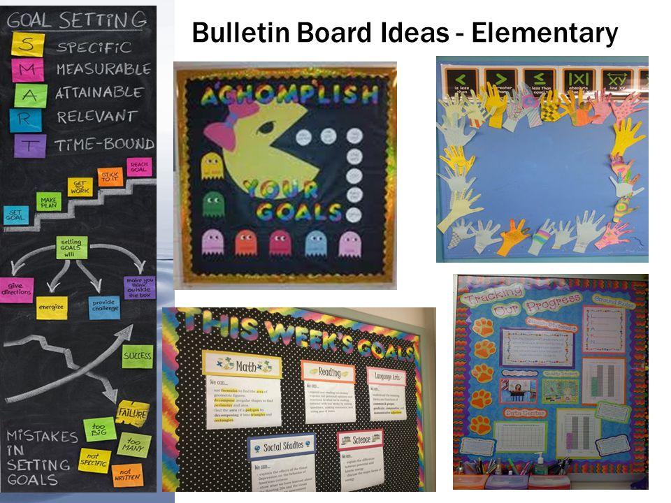 Bulletin Board Ideas - Secondary