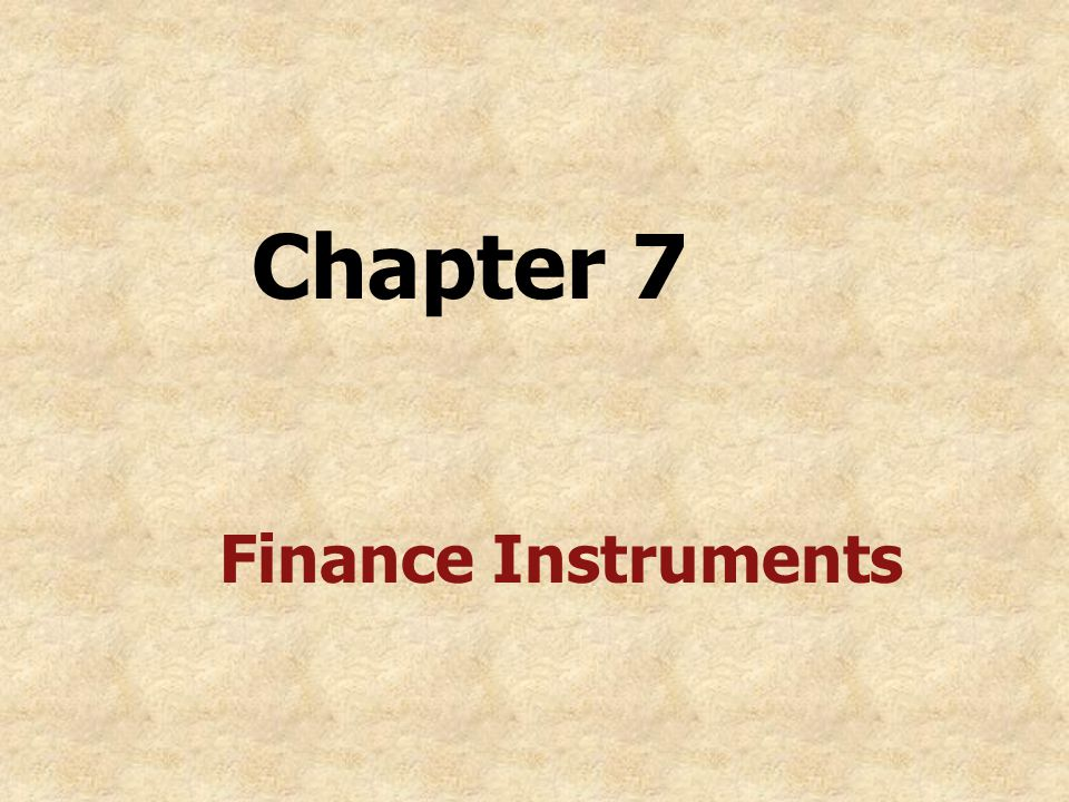 V. Typical Clauses in Security Instruments