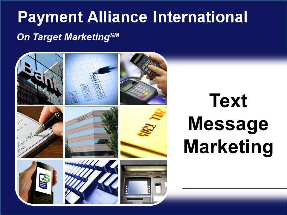 Text Message Marketing On Target Marketing SM