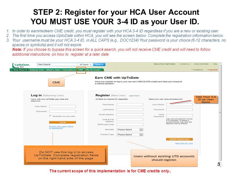 Confirmed Registration Indicators for CME Accrual Displays CME 6