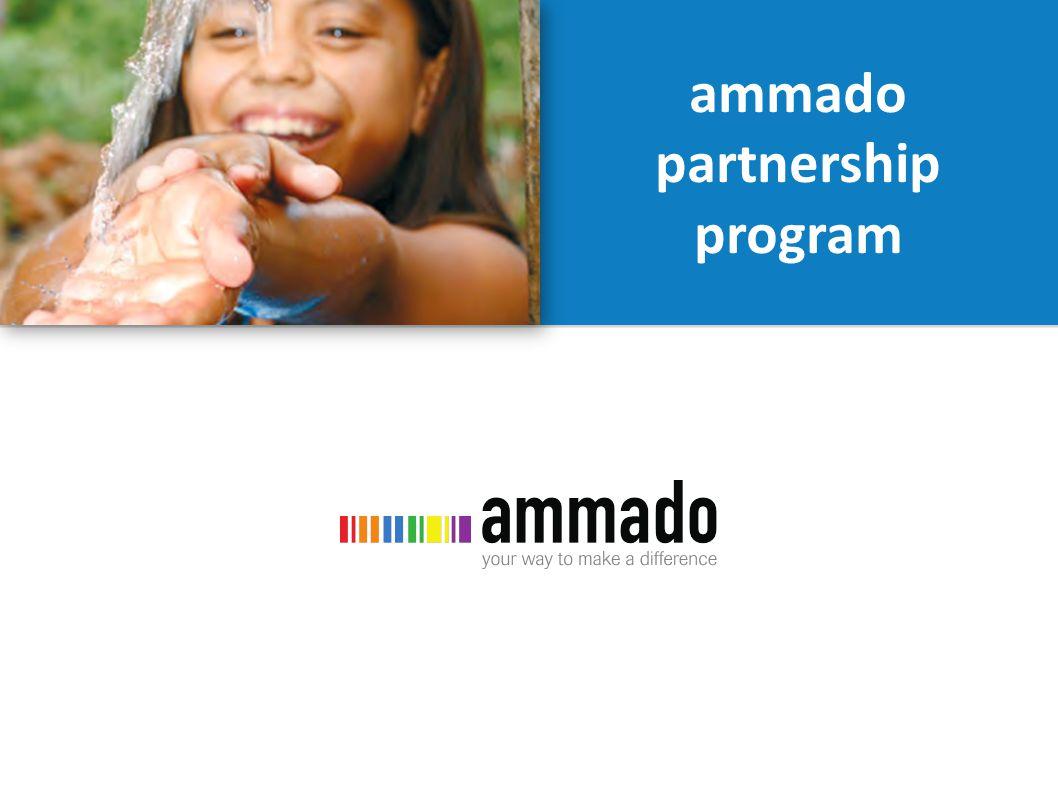 ammado partnership program