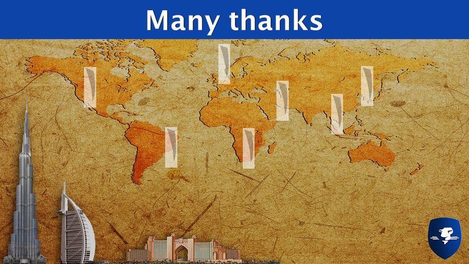 Many thanksMany thanks